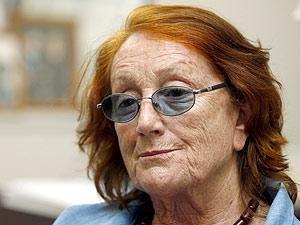 Rosa Regás, días después de presentar su dimisión como directora de la Biblioteca Nacional. (Foto: EFE)