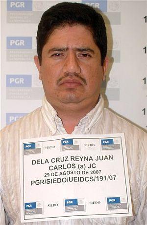 Foto policial de Juan Carlos de La Cruz Reyna. (Foto: AP)