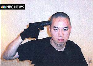 Imagen tomada por el propio asesino la mañana de la masacre. (Foto: AFP/NBC)