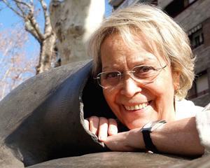 Purita Campos es la ilustradora de las aventuras de Esther. (Foto: EFE)