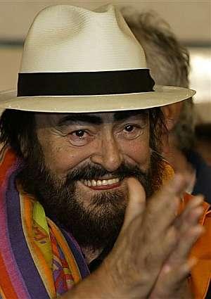 Luciano Pavarotti. (Foto: AP)