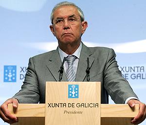 El presidente de la Xunta, Emilio Pérez Touriño. (Foto: EFE)
