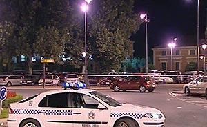Al fondo, el aparcamiento donde ETA pretencía atentar. (Foto: TVE)