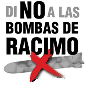 Logotipo de la campaña contra las bombas de racimo.