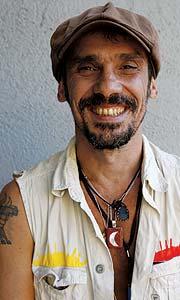 El cantante Manu Chao. (Santi Cogolludo)