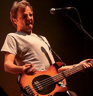 David Summers, durante un concierto. (Foto: Carlos Espeso)