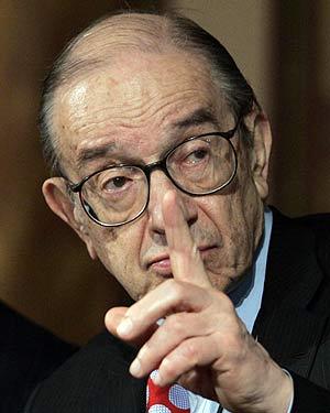 Alan Greenspan, el pasado marzo en Washington. (Foto: REUTERS)