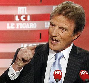 Bernard Kouchner, durante su entrevista en la cadena de televisión LCI. (Foto: AP)
