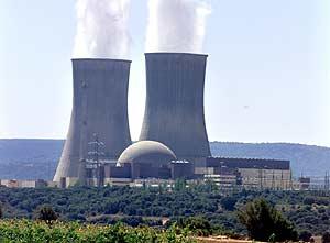 Central nuclear de Trillo, Guadalajara (EL MUNDO)