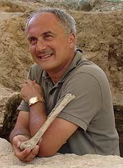David Lordkipanidze, director de la excavación de Dmanisi, Georgia (Foto: Museo Nacional de Georgia)