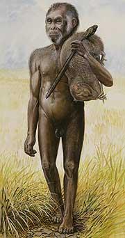 Reconstrucción del 'Homo floresiensis' (AP)