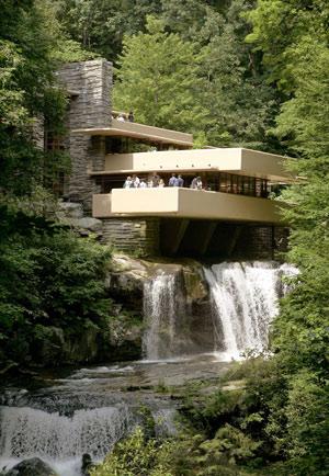 Imagen de la obra más famosa de Wright, Fallingwater House. (Foto: AP)