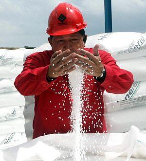 Chávez, durante el programa. (Foto: EFE)