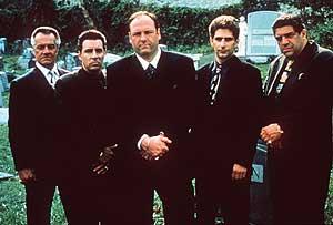 Algunos de los protagonistas de 'Los Soprano'.