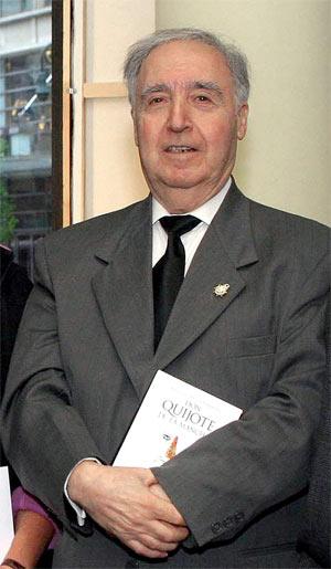 El escritor onubense Odón Betanzos. (Foto: EFE)