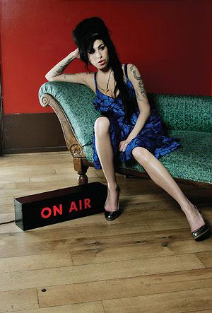 La cantante Amy Winehouse.