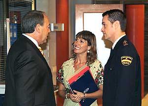 Escena de 'El comisario'.