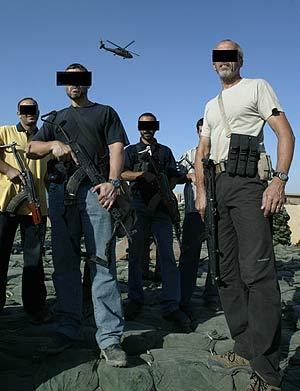 Miembros de la compañía Blackwater. (Foto: AFP)
