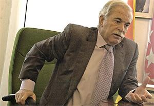 Enrique Porto, el ex director general de Urbanismo de la Comunidad. (Foto: Pedro Carrero)