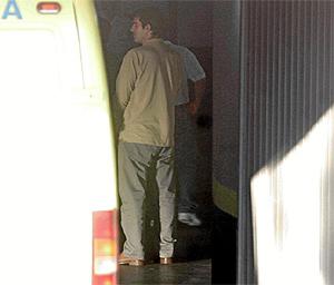Jorge Ramos, el acusado, a su llegada al juicio el pasado día 24. (Foto: Carlos Barajas)
