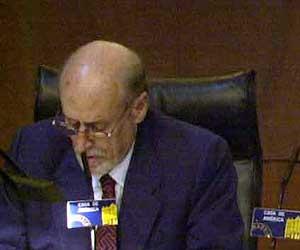 Roberto Fernández Retamar durante una presentación en la Casa de América. (Foto: P. Torrente)