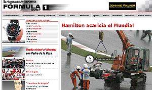 Especial del Mundial de Fórmula 1.