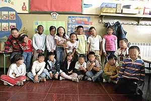 imagen de alumnos de Segundo de Primaria del colegio Pi i Margal