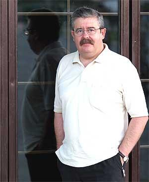 Antonio Romero, diputado de IU en el Parlamento Andaluz. (Foto: Carlos Díaz)