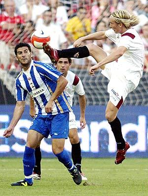 El Sevilla-Deportivo se emitió el pasado domingo por laSexta. (Foto: AFP)