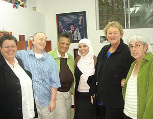 Miembros de Aswat durante un acto. (Foto: Casa Árabe)