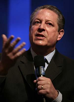 Al Gore el pasado 8 de octubre (AFP/Nicholas Roberts)