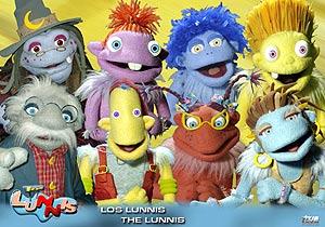 Los personajes del programa infantil de televisión. (Foto: EL MUNDO)