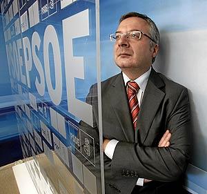 El secretario de Organización del PSOE, José Blanco. (Foto: Javi Martínez)