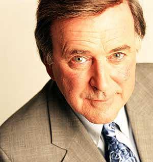 Terry Wogan, presentador de radio y TV en la BBC.