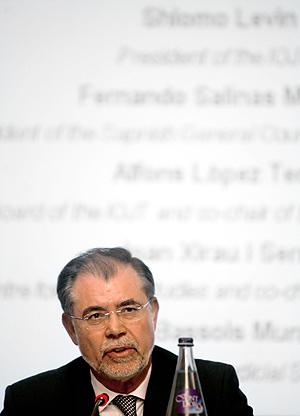 El ministro de Justicia, Mariano Fernández Bermejo. (Foto: EFE)