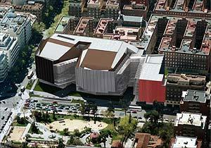 Reconstrucción virtual del Teatro del Canal. (Foto: Comunidad de Madrid)