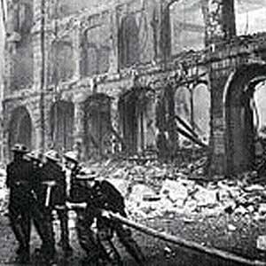 Bombardeos nazis sobre Londres en la Segunda Guerra Mundial (Foto de archivo).