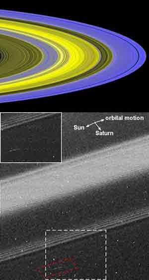 Imagen de los anillos de Saturno. (Foto: 'Nature')