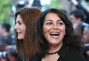 Marjane Satrapi y Chiara Mastroianni, en el último Festival de Cannes. (Foto: AFP)