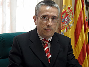 Fotografía de archivo del alcalde de Polop, Alejandro Ponsoda. (Foto: EFE)