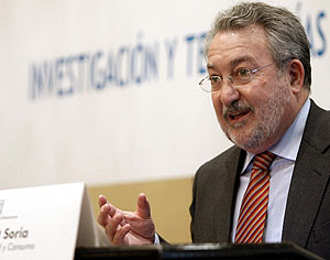 El ministro de Sanidad, Bernat Soria. (Foto: EFE)
