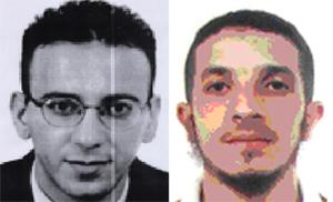 Abdelkader Ayachine (izqda.) y Wissam Lotfi (dcha.). (Foto: AFP)