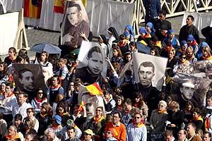Familiares de los 498 españoles beatificados este fin de semana por el Vaticano. (Foto: EFE)