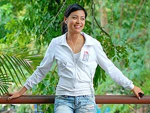 Hoang Thuy Linh, la actriz vietnamita a la que un vídeo casero ha arruinado su carrera. (Foto: AP)