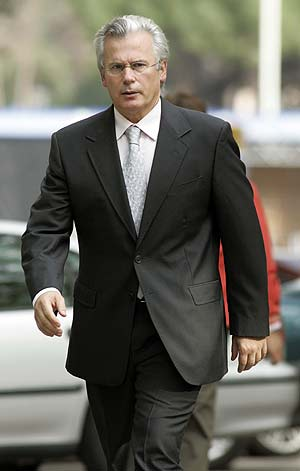 El juez Garzón, en una imagen tomada a principios de octubre. (Foto: Reuters)