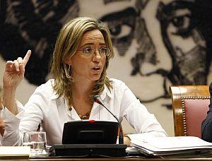 La ministra de Vivienda, Carme Chacón. (Foto: EFE)