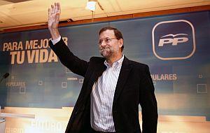 Rajoy, durante la clausura de unas jornadas de trabajo. (Foto: EFE)
