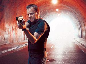 Kiefer Sutherland, protagonista de la serie '24', una de las afectadas por la huelga.