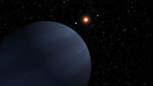 Recreación artística del nuevo planeta. (Foto: AP)