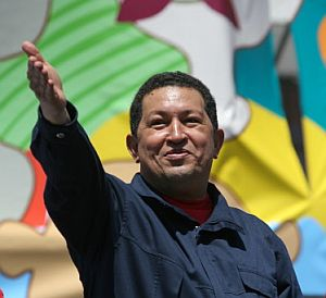 El presidente de Venezuela, Hugo Chávez. (Foto: AFP)